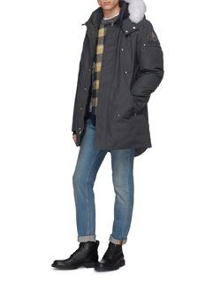 Moose Knuckles 'Stirling' fox fur trim hooded down parka