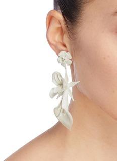 Jennifer Behr 'Lydia' floral drop earrings