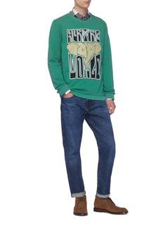 HUNTING WORLD Logo elephant graphic print sweatshirt