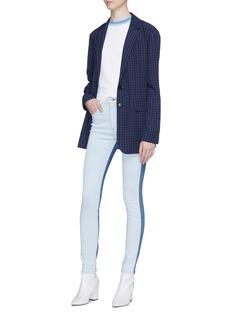 rag & bone/JEAN Colourblock skinny jeans