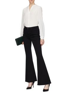 L'Agence 'Raquel' button back blouse