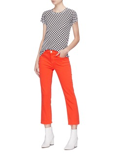rag & bone/JEAN Checkerboard Pima cotton T-shirt
