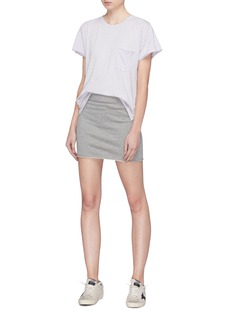 rag & bone/JEAN 'Marlie' mini sweat skirt