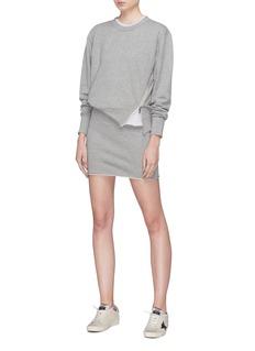 rag & bone/JEAN 'Marlie' slant zip sweatshirt