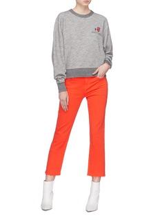 rag & bone/JEAN 'Daytona' slogan graphic print sweatshirt