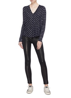 rag & bone/JEAN 'Hudson' chevron stripe V-neck sweater