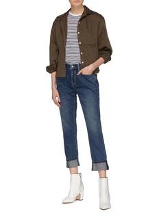Current/Elliott 'The Fling' roll cuff jeans