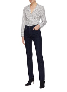 Current/Elliott 'The Stovepipe' straight leg jeans
