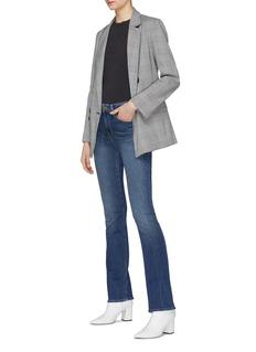 Frame Denim 'Le Mini Boot' flared cuff jeans