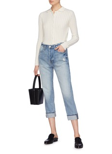 Frame Denim 'Pegged' cropped jeans