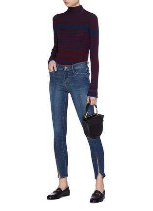 Frame Denim   \'Le Skinny de Jeanne\' zip cuff jeans   Women   Lane ...