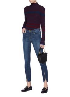 Frame Denim 'Le Skinny de Jeanne' zip cuff jeans