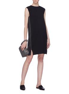 Theory 'Minimal' stripe outseam shift dress
