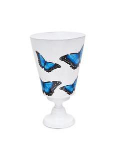 Astier De Villatte x John Derian butterfly vase –Blue