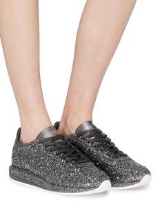 GHŌUD Coarse glitter sneakers