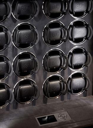 Detail View - Click To Enlarge - BUBEN&ZÖRWEG - Quantum 16 TIME MOVER® watch winder –Macassar