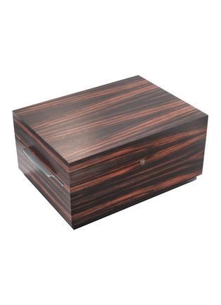 Main View - Click To Enlarge - BUBEN&ZÖRWEG - Connoisseur 200 Humidor Cigar Case – Macassar