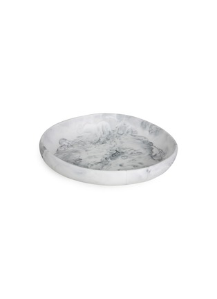 Main View - Click To Enlarge - DINOSAUR DESIGNS - Earth large bowl – Black & Snow Swirl