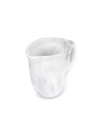 Detail View - Click To Enlarge - DINOSAUR DESIGNS - Rock small jug –Black & Snow Swirl