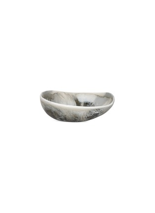 Main View - Click To Enlarge - DINOSAUR DESIGNS - Flow large bowl –Oyster Shell Swirl