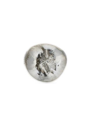 - DINOSAUR DESIGNS - Flow large bowl –Oyster Shell Swirl