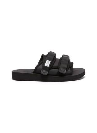 Main View - Click To Enlarge - SUICOKE - Adjustable Single Band Double Strap Sandals