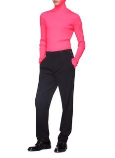 Balenciaga Rib knit hoodie