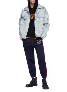 Gucci x Major League Baseball 'Pittsburgh Pirates™' logo appliqué hoodie
