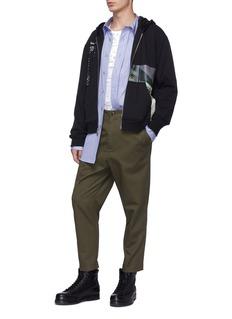 3.1 Phillip Lim 'Receipt' photographic print zip hoodie