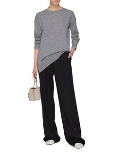 Equipment 'Gafton' tie keyhole back oversized cashmere sweater