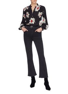 Equipment 'Cornelia' floral print silk shirt