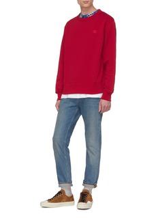 Acne Studios 'Fairview Face' patch sweatshirt