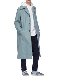 Acne Studios Ring button wool melton coat