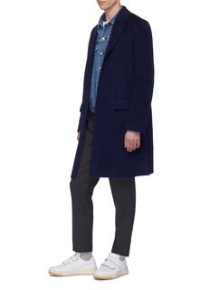 Acne Studios 'Matthew' wool-cashmere melton coat