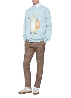 Acne Studios Fox graphic print sweatshirt