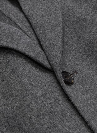 - Acne Studios - 'Chad' wool-cashmere melton coat
