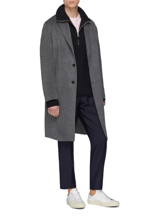 Figure View - Click To Enlarge - Acne Studios - 'Chad' wool-cashmere melton coat