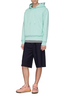 Acne Studios 'Ryder' elastic waist wool-mohair suiting shorts