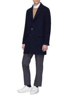 Barena 'Borella Schio' houndstooth check plaid coat
