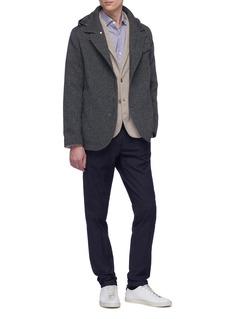 Incotex Slim fit pleated gabardine pants