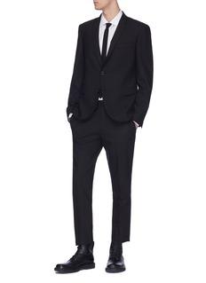 Neil Barrett Slim fit shirt with tie