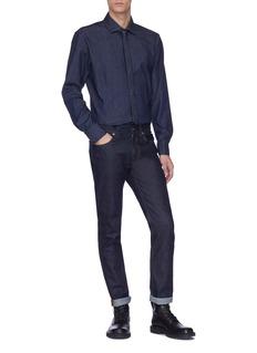 Neil Barrett Denim shirt with tie