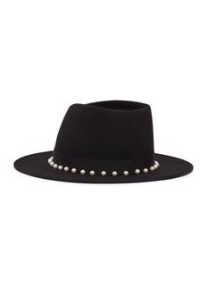 Eugenia Kim 'Blaine' faux pearl wool felt fedora hat