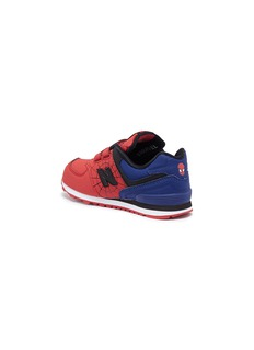 New Balance x Marvel '574 Spiderman' colourblock toddler sneakers