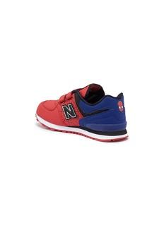 New Balance x Marvel '574 Spiderman' colourblock kids sneakers