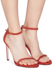Stuart Weitzman Nudist Song' suede sandals