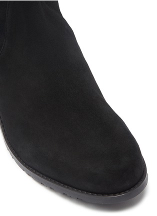 Detail View - Click To Enlarge - STUART WEITZMAN - 'Midland' suede thigh high boots