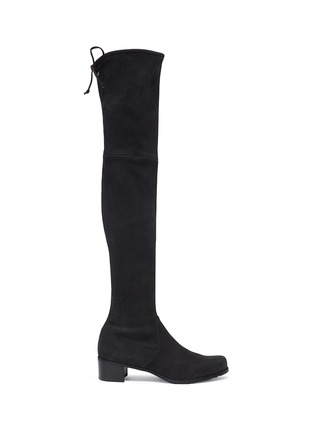 Main View - Click To Enlarge - STUART WEITZMAN - 'Midland' suede thigh high boots