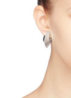 Kenneth Jay Lane Tapered hoop earrings