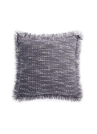 Main View - Click To Enlarge - L'OBJET - Seville cushion – Grey